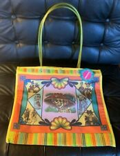 Catrina Day of the Dead Plastic Tote Market Gym Yoga Grocery Pool Market Bag