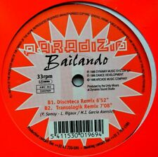 "12"" BE**PARADISIO - BAILANDO (ARCADE MUSIC COMPANY '97)**31676"