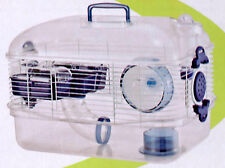 New Transparent Habitat Hamster Rodent Gerbil Mouse Mice Animal Cage 073