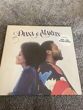 New listing DIANA & MARVIN DIANA ROSS MARVIN GAYE VINYL LP EXCELLENT GATEFOLD COVER STMA8015