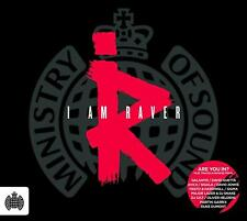MINISTRY OF SOUND – I AM RAVER V/A INC Tiesto David Guetta Sigala  3CDs (NEW)
