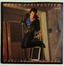 """Bruce Springsteen Dancing In The Dark Single 7"""" UK 1984   Paper label naranja"""