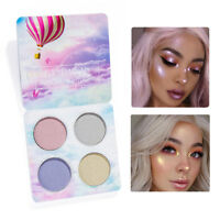 HANDAIYAN Mermaid Highlighter Shimmer Eyeshadow Aurora Highlighting Glow Palette