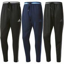 Adidas HOMBRE 3 Rayas Condivo 16 Pantalones de Chándal Pantalón Essentials Negro