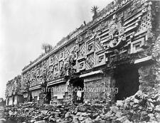 "Photo 1900s Uxmal Mexico ""Governor's Palace"""