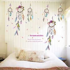Fashion Dream Catcher Feathers Wall Sticker Mural Art Vinyl Decals Home Decor AT