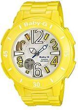 Casio Baby-G Neon Marine Series Analog-Digital Yellow x White Dial Watch BGA170