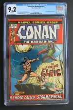 CONAN THE BARBARIAN #14 1st ELRIC Melniboné in Comic TV 1972 Barry Smith CGC 9.2