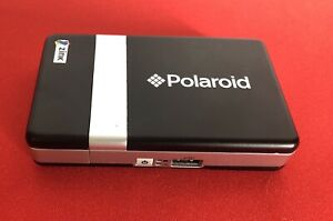 Polaroid Pogo CZA-10011B Instant Thermal Printer Zink Used