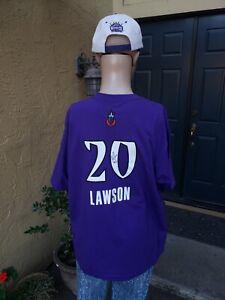 KARA LAWSON SACRAMENTO MONARCHS WNBA AUTOGRAPHED ADIDAS SHIRT ADULT XL