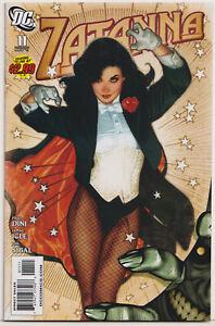 Zatanna 11 NM/M 9.8 2010 DC Comics Adam Hughes cover
