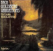 Bach: Goldberg Variations and Tatiana Nikolayeva CD Hyperion 1992