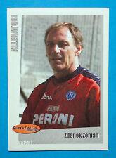 PANINI SUPERCALCIO 2000/2001-Figurina/Sticker-n.43-ZEMAN-ALLENATORI-New