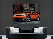 Dodge challenger srt8 Supercharger car Art Wall Large IMAGE GIANT POSTER