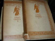OMERO, Odissea. Bologna, Zanichelli, 1926.  Incisioni  di A. De Carolis