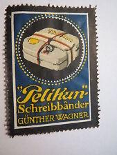 Günther Wagner - Pelikan Schreibbänder / Reklamemarke