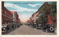 Postcard Howard St Greenwood MS 1952