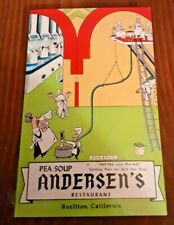 Postcard Buellton CA Andersen's Pea Soup Restaurant