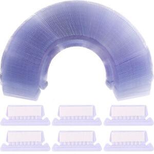 Suspension Hanging Clear Plastic Filing Folder File Tabs Inserts 10/50/100 Set