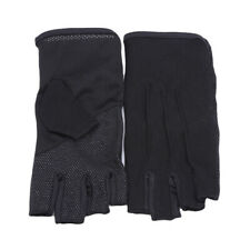 Summer Women Men Thin Fingerless Gloves Riding Half Finger Gloves Anti-slip WS