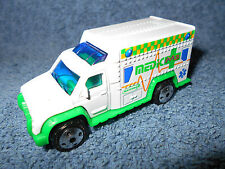 "2000 MATCHBOX AMBULANCE MEDIC M3 DIECAST 3"" EMRERGENCY VEHICLE OPENING REAR DOOR"