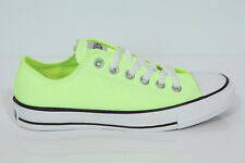 NUOVO Converse Chucks All Star Low CT OX NEON YELLOW Sneaker 136585c Retro