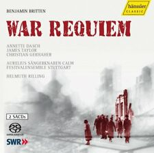 Britten: War Requiem by Helmuth Rilling SACD (2 Disc Set) Surround Sound 5.1 Mix