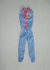 Teenage Doll Tammy Ideal Sindy Cute Handmade Striped Pajamas Fits Tammy