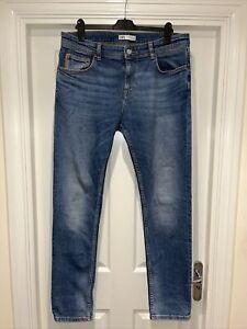 Men's ZARA Man Slim Leg Jeans Size W36 L32