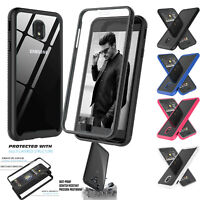 For Samsung Galaxy J3 Orbit/Star Case Screen Protector Slim Shockproof Clear 360