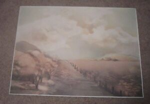 """Rare Find """"SEASON'S WARMTH"""" by Pamela Hassler SIGNED Limited Edition 828/1950"""