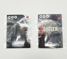 SDCC 2018 Cloak & Dagger 2 Marvel Button Pin Lot Convention Exclusive Freeform