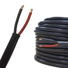 1 M 14Amp 2 Core Redondo Twin automotriz Cable Cable Auto Cableado Telar Marine
