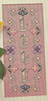 Love Sampler Cross Stitch Pattern Chart from a magazine