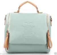 bolso hombro Vintage Retro Square Handbag Shoulder Satchel tote bag