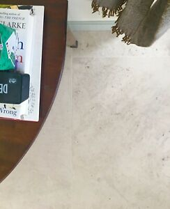 JOB LOT 9m2 Moleanos White Honed limestone Floor Tiles 600 X 400 X 15mm