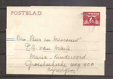 Nederland - Postblad - WA554