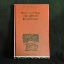 Methods and Criteria of Reasoning: An Inquiry into the Structure of Controversy