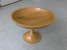 Expertic Handiwork Holz Obstschale Made in GDR