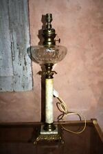 lampe a petrole marbre et bronze en vente | eBay