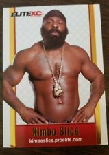 Kimbio Slice 2008 Elite XC TRUE Rookie RC Card Extremely Rare Promo MMA UFC