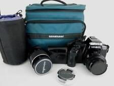 Minolta Maxxum 5000i Camera 35mm Film Bag Lens Accessories Micro Set Up