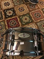 Pearl Sensitone snare (steel)