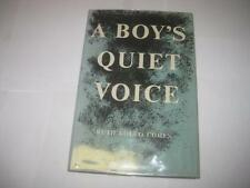 SIGNED A boy's quiet voice by Ruth Kolko Cohen JEWISH CANCER SURVIVAL STORY
