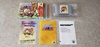 Paper Mario Nintendo 64 N64 Video Game Complete CIB Manual Box Lot CLEAN TESTED!