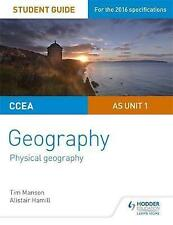 CCEA A-Level Geography Student Guide 1: as Unit 1 by Tim Manson, Alistair Hamill (Paperback, 2016)