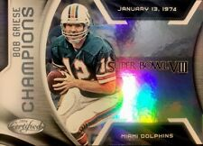 BOB GRIESE - 2016 Certified CHAMPIONS Insert #16 - MIAMI DOLPHINS