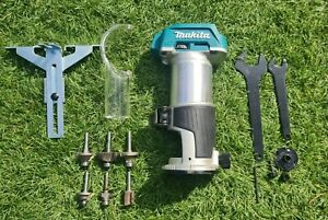 Makita Brushless 18v router trimmer + extra router bits
