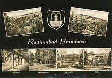 Alte Postkarte - Radiumbad Brambach