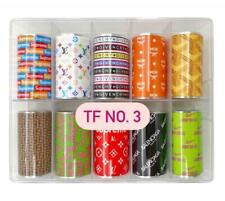 Trending Nails Foils Transfer Foil Stickers Water Decals